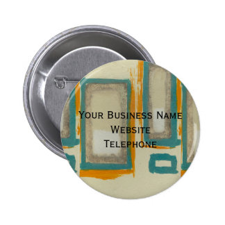 Rothko Inspired Abstract 2 Inch Round Button