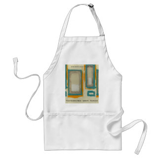 Rothko Inspired Abstract Standard Apron