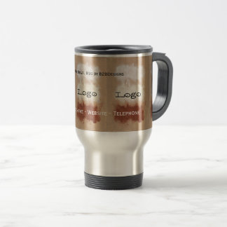 Rothko Inspired Modern Art Logo Travel Mug