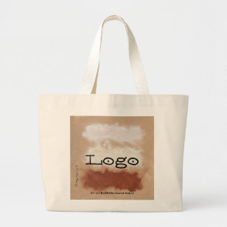 Rothko Inspired Spiced Berry Canyon Abstract Large Tote Bag