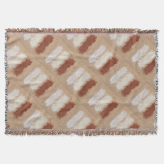 Rothko Inspired Spiced Berry Canyon Dusk Throw Blanket