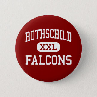 Rothschild - Falcons - Middle - Columbus Georgia 2 Inch Round Button