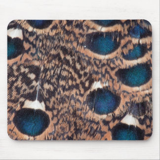 Rothschild Peacock-Pheasant Feathers Mouse Pad