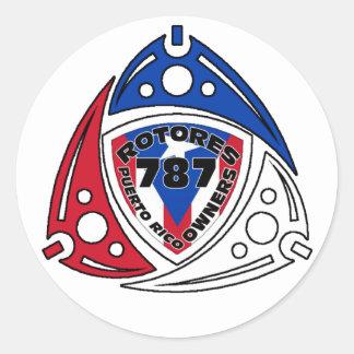 RotoreS PR Owners Round Sticker