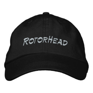 RotorHead Embroidered Hats