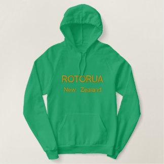 Rotorua, New Zealand Embroidered Hoodie