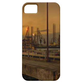 Rotterdam harbor by night case for the iPhone 5