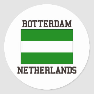 Rotterdam Netherlands Round Sticker
