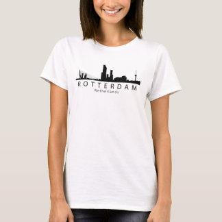 Rotterdam Netherlands Skyline T-Shirt
