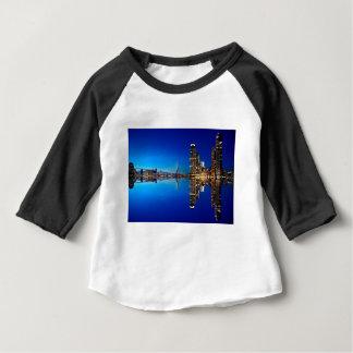 Rotterdam Night Skyline Baby T-Shirt