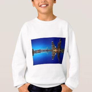 Rotterdam Night Skyline Sweatshirt