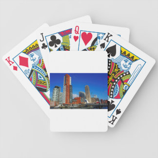 Rotterdam Skyline Bicycle Playing Cards
