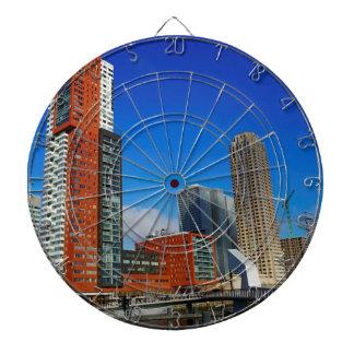 Rotterdam Skyline Dartboard