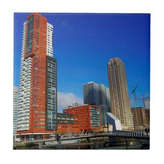 Rotterdam Skyline Tile