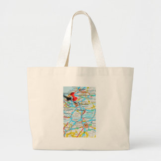 Rotterdam, The Netherlands Large Tote Bag