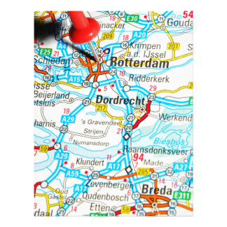 Rotterdam, The Netherlands Letterhead