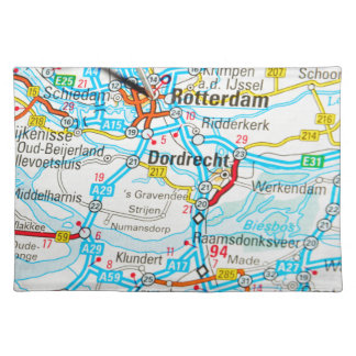 Rotterdam, The Netherlands Placemat