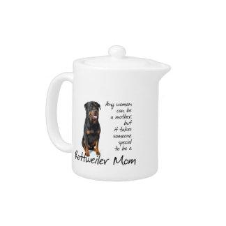 Rottie Mom Teapot