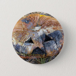 Rotting Pumpkin 2 Inch Round Button