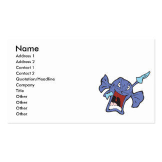 rotton candy character pack of standard business cards