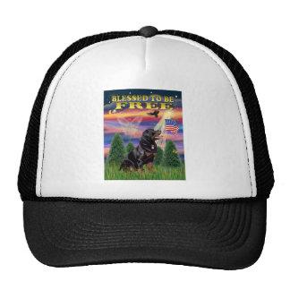 Rottweiler #6 trucker hat