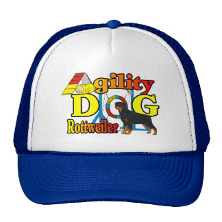 Rottweiler Agility Gifts Trucker Hat