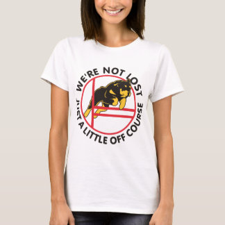 Rottweiler Agility Off Course T-Shirt