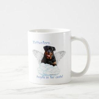 Rottweiler Angel Coffee Mug