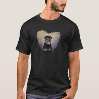 Rottweiler Art, I love Rotties Impressionist T-Shirt