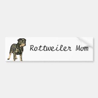 Rottweiler Autocollant De Voiture