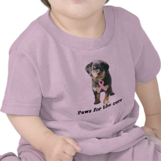 Rottweiler Breast Cancer Toddler Unisex Shirt