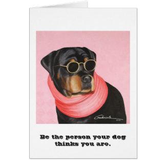 Rottweiler Card
