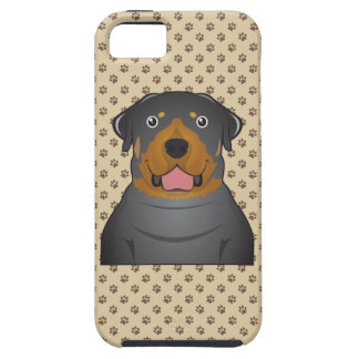 Rottweiler Cartoon iPhone 5 Covers