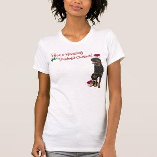 Rottweiler Christmas Nightshirt Tee Shirts