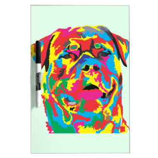 rottweiler color dry erase whiteboards