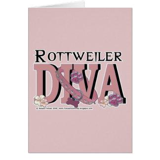 Rottweiler DIVA Card