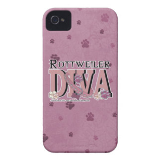 Rottweiler DIVA iPhone 4 Covers