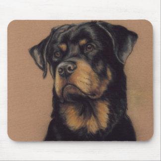 """""""Rottweiler"""" Dog Art Mousepad"""