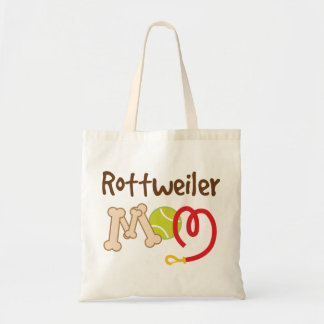 Rottweiler Dog Breed Mom Gift Tote Bag