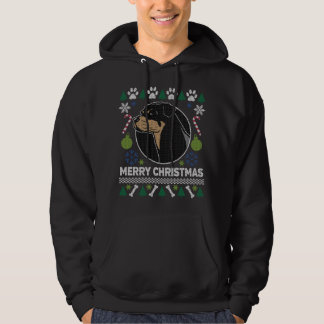 Rottweiler Dog Breed Ugly Christmas Sweater