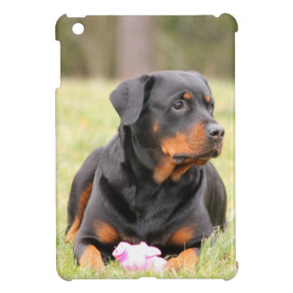 Rottweiler Dog iPad Mini Cover