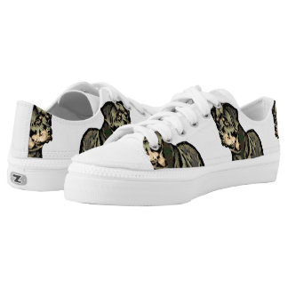 Rottweiler dog Low-Top sneakers