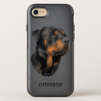 Rottweiler Dog OtterBox Symmetry iPhone 7 Case