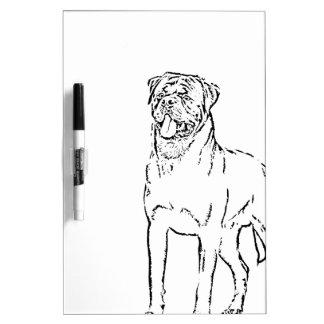 Rottweiler Dry-Erase Boards
