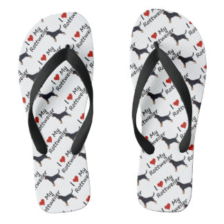 Rottweiler Flip Flops