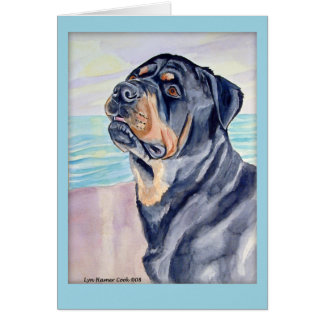 Rottweiler Greeting Cards