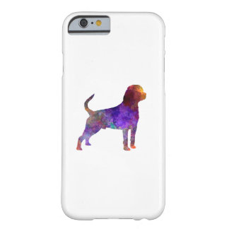 Rottweiler in watercolor barely there iPhone 6 case