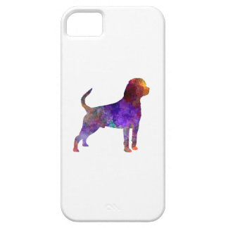Rottweiler in watercolor iPhone 5 cases