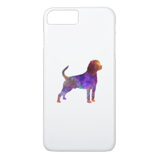 Rottweiler in watercolor iPhone 7 plus case