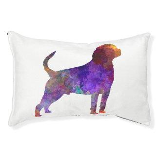 Rottweiler in watercolor pet bed